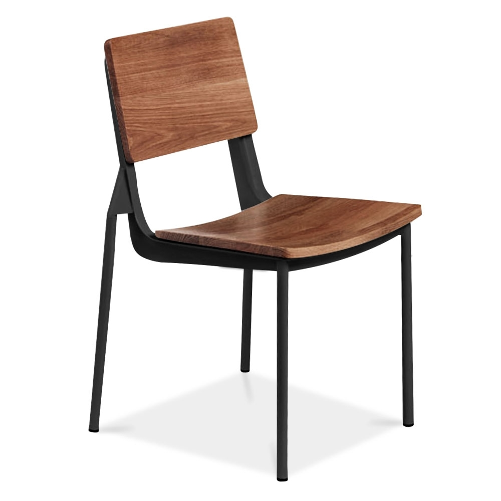 Cult living dalston chair in black with wood colour option cult uk - Cult furniture ...