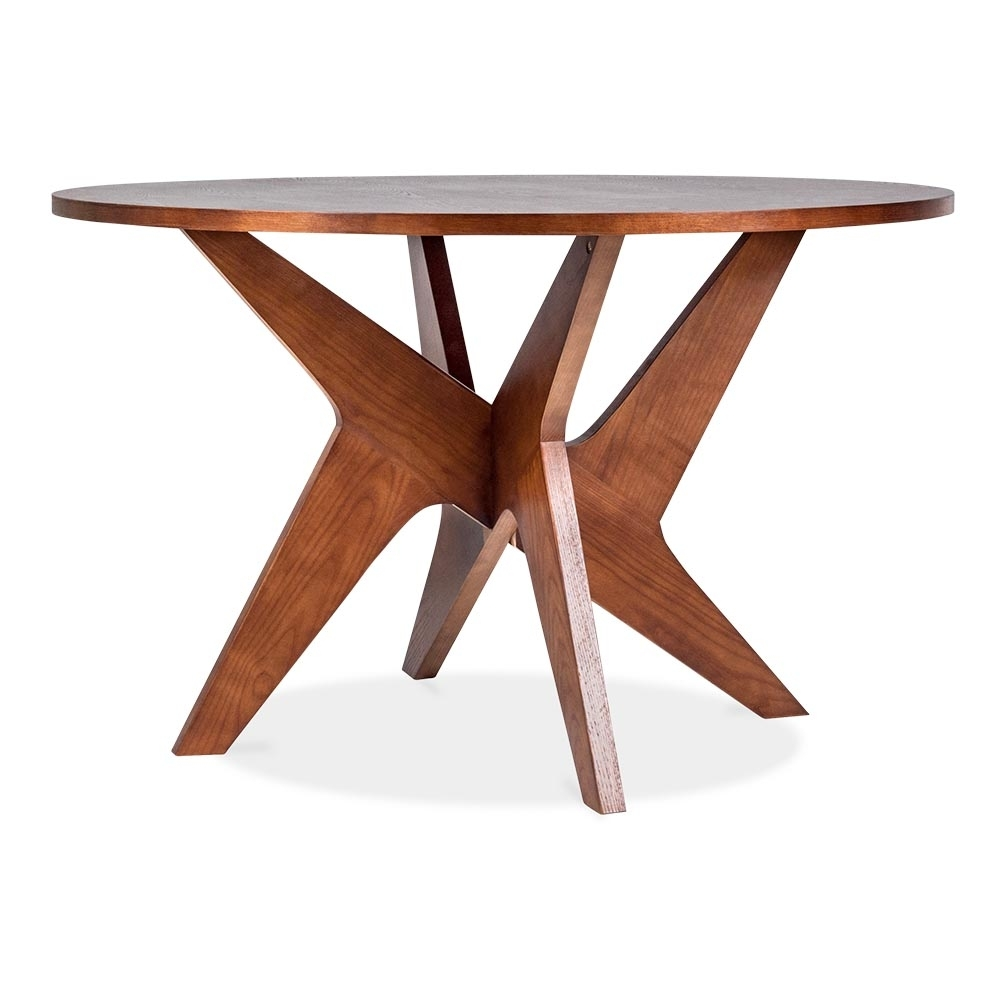 walnut fredrika dining table in wood walnut 120cm cult furniture uk. Black Bedroom Furniture Sets. Home Design Ideas