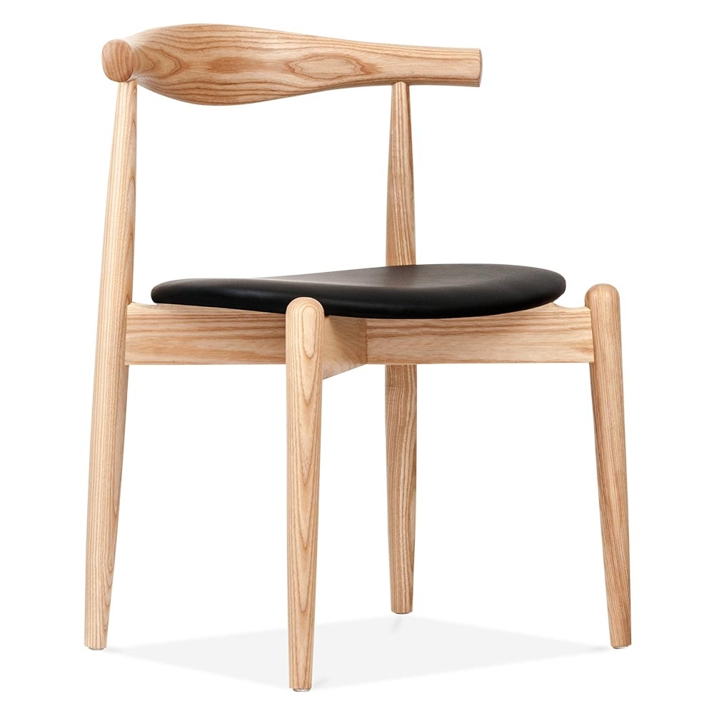 Wonderful Danish Designs Natural Elbow Chair With Round Seat. U2039