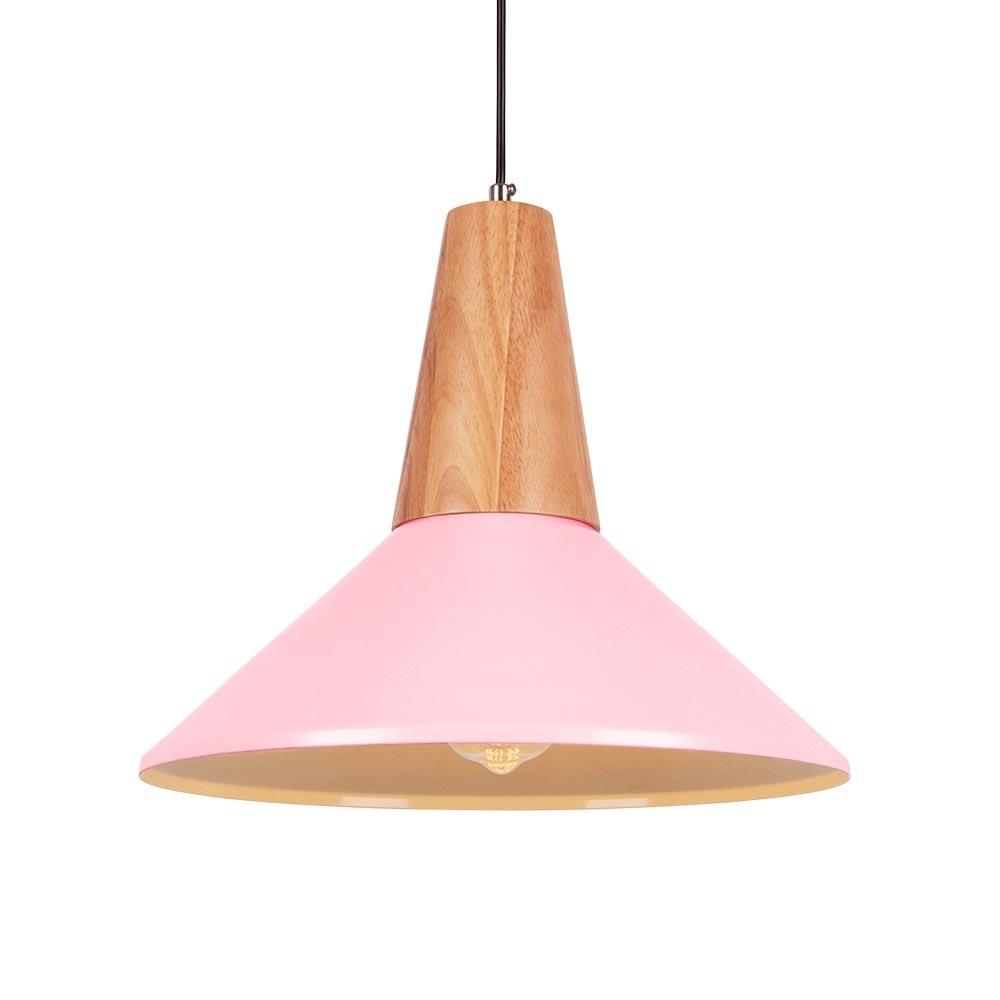 baby pink ceiling lamp shade - pranksenders