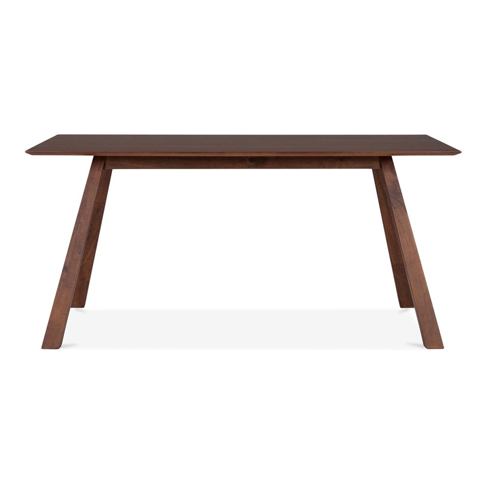 Walnut hudson dining table with walnut finish for Dining table finish