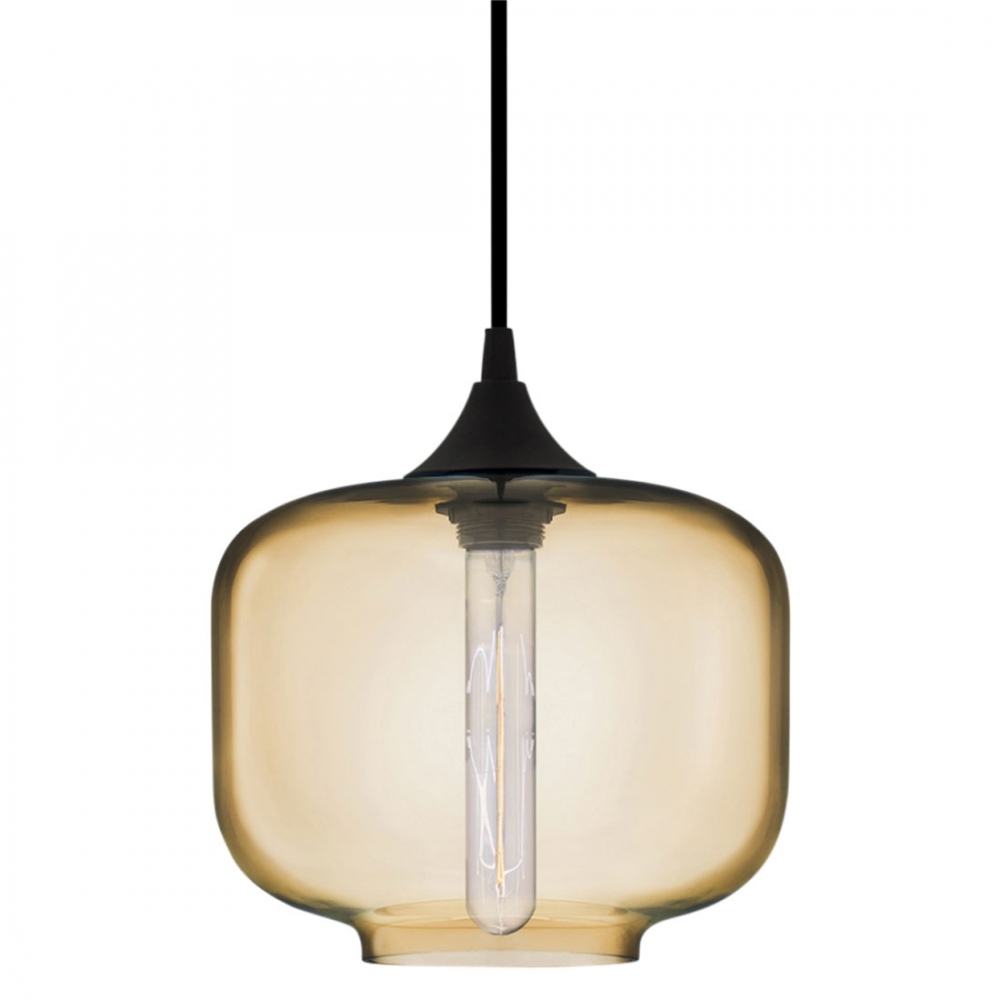 Edison oculo pendant light in amber industrial lighting Modern pendant lighting
