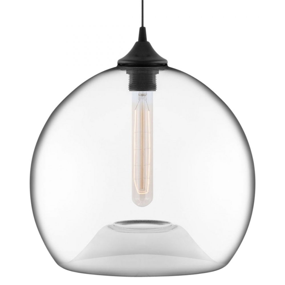 edison industrial globe clear modern pendant light. Black Bedroom Furniture Sets. Home Design Ideas