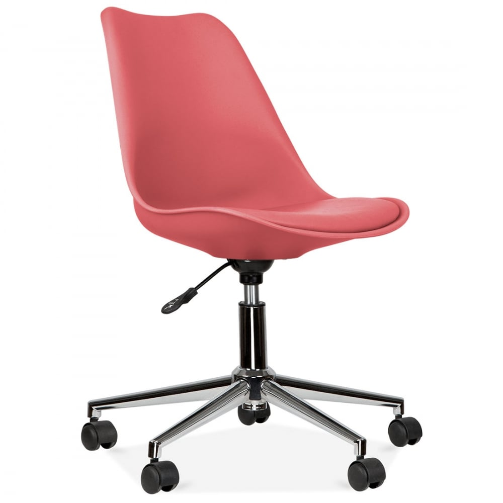 Eames inspired watermelon office chair with castors cult uk for Inspiration eames
