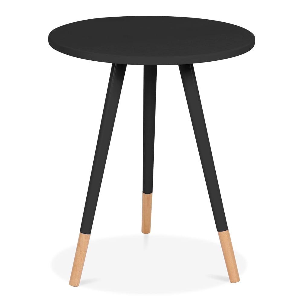 Cult Living Black 53cm Pop Side Table Cult Furniture Uk