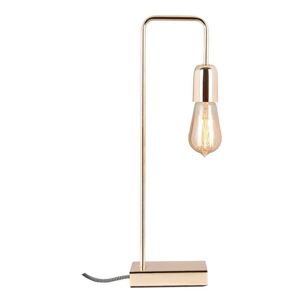 elegance metal table lamp in gold living room lighting. Black Bedroom Furniture Sets. Home Design Ideas