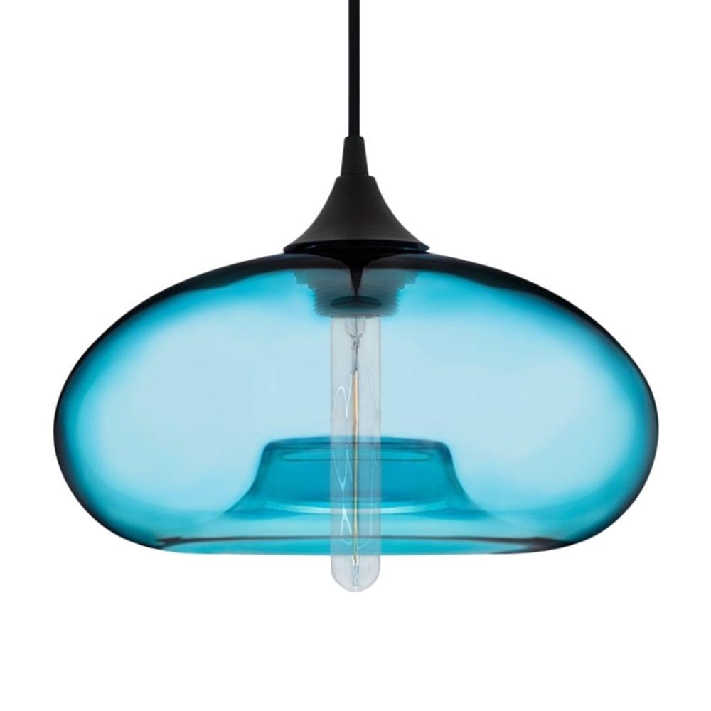edison industrial modern pendant light in light blue cult uk