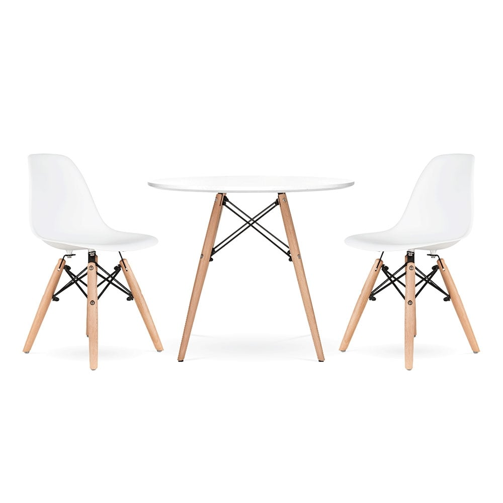 Cult Living Dsw Kids White Dining Set Cult Furniture Uk