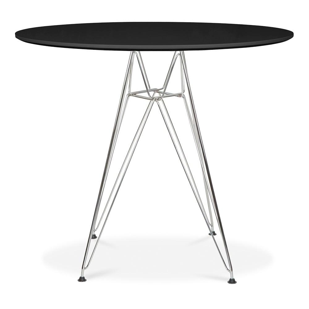 Black Charles Eames Round DSR Table Black 70cm Cult  : 1467727301 98400400 from www.cultfurniture.com size 1000 x 1000 jpeg 37kB