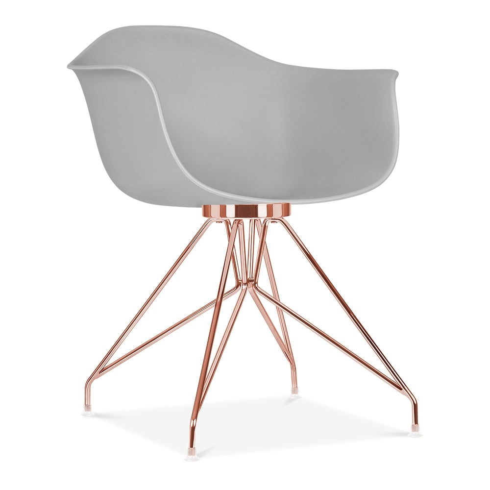 Cult Design Light Grey Moda Armchair Cd1 Cult Uk