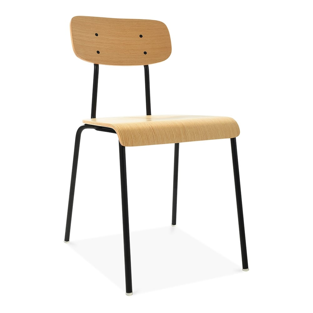 Cult living social dining chair in black cult furniture uk - Cult furniture ...