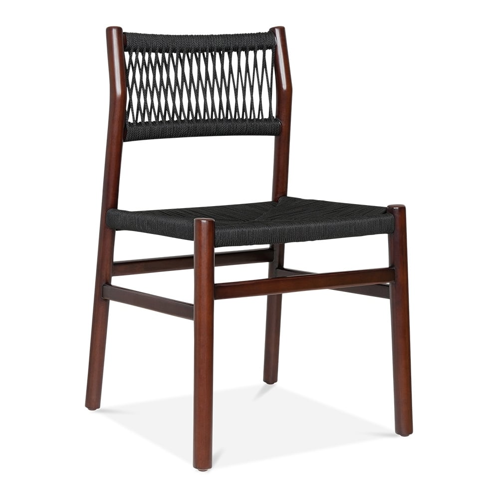 Cult design southbank dining chair in brown with black seat cult furniture - Cult furniture ...