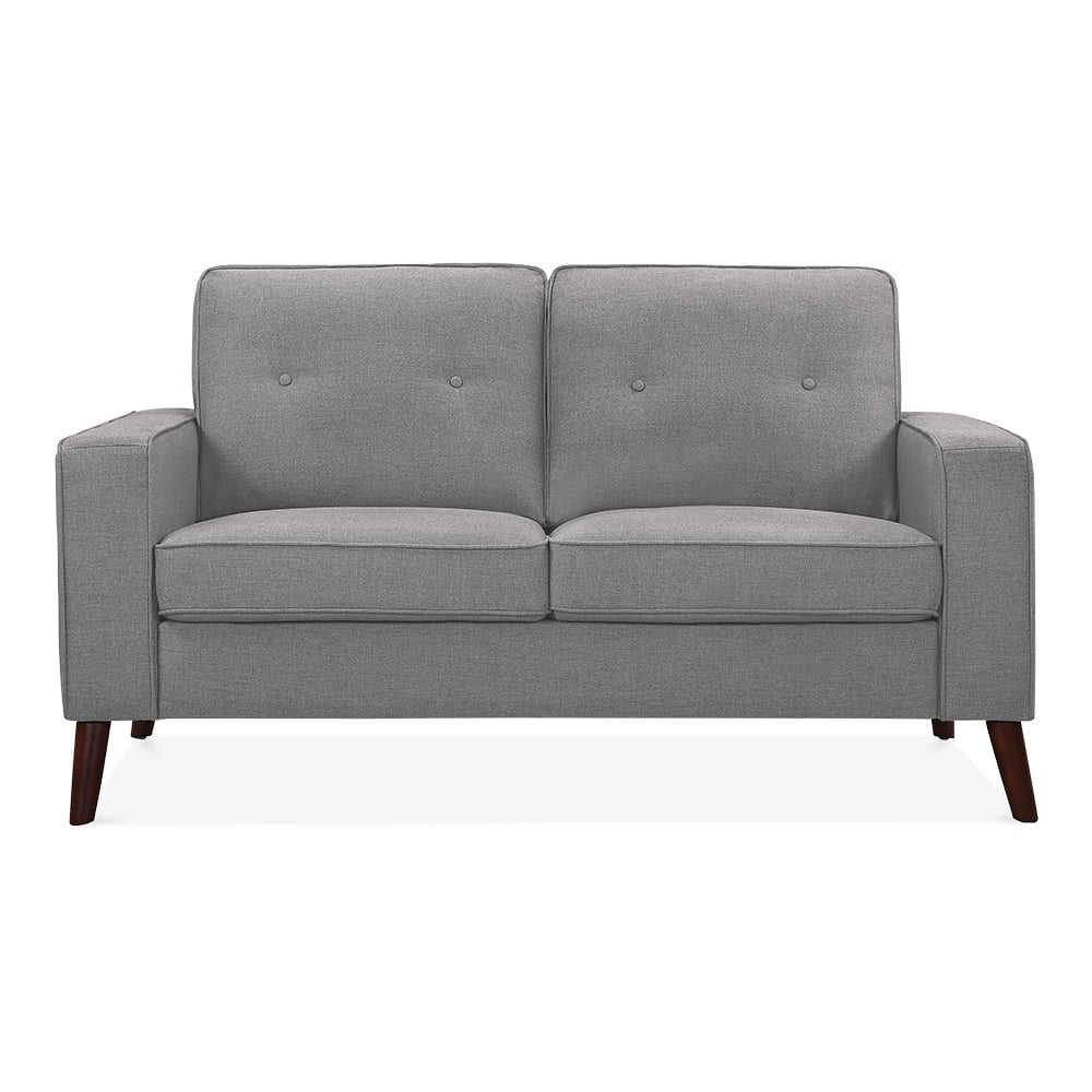 cult living madison 2 seater sofa smokey grey cult furniture. Black Bedroom Furniture Sets. Home Design Ideas
