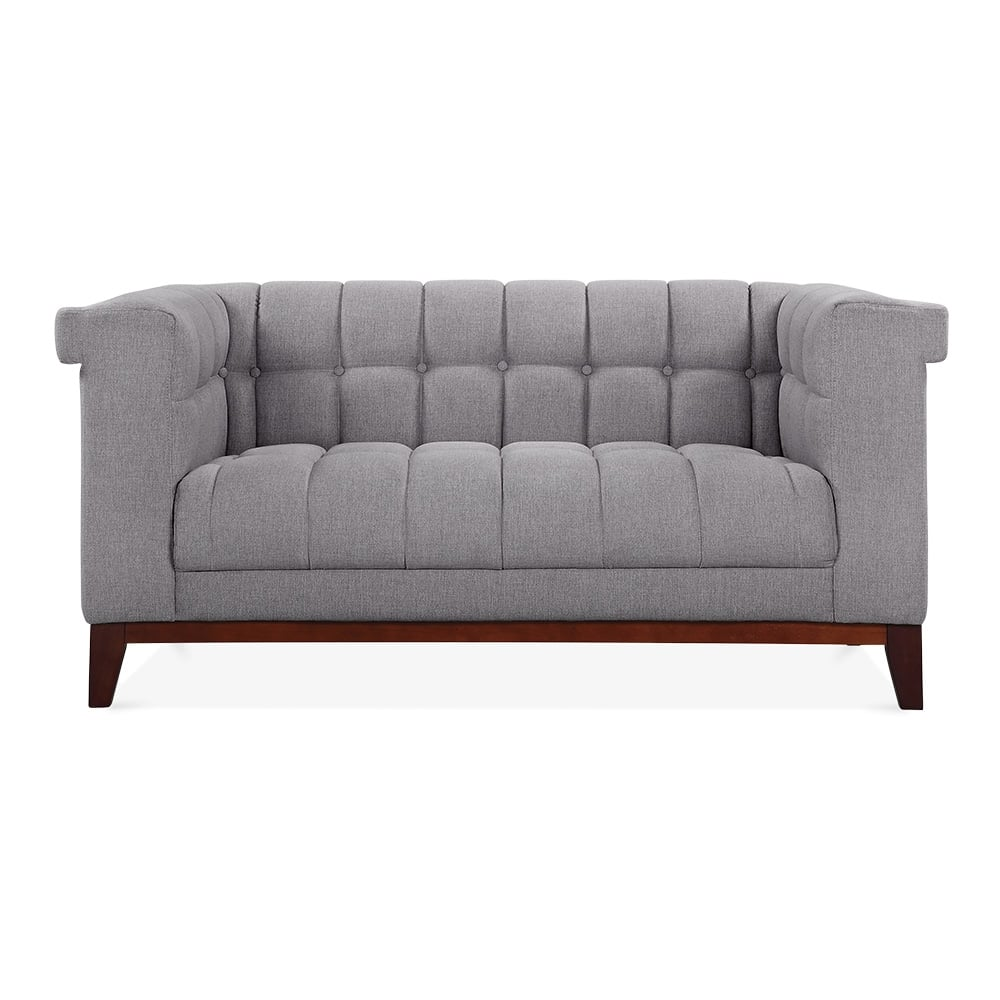 cult living jewel 2 seater sofa smokey grey cult. Black Bedroom Furniture Sets. Home Design Ideas