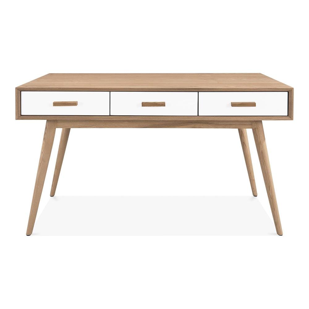 buy office desk natural. Cult Living Molander Home Office Desk, Ash Wood, Natural Buy Desk