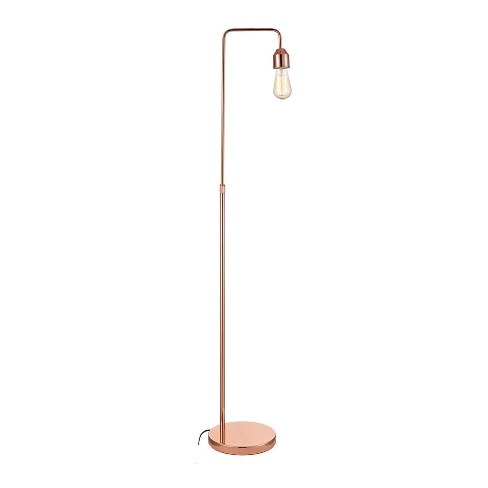 Copper Grace Adjustable Metal Floor Lamp   Living Room Lighting