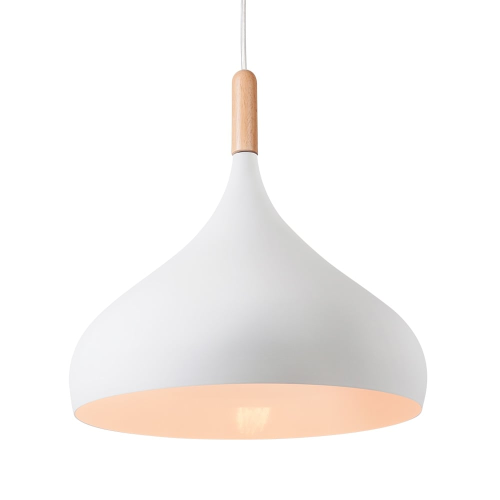 cult living small white hirst pendant light cult