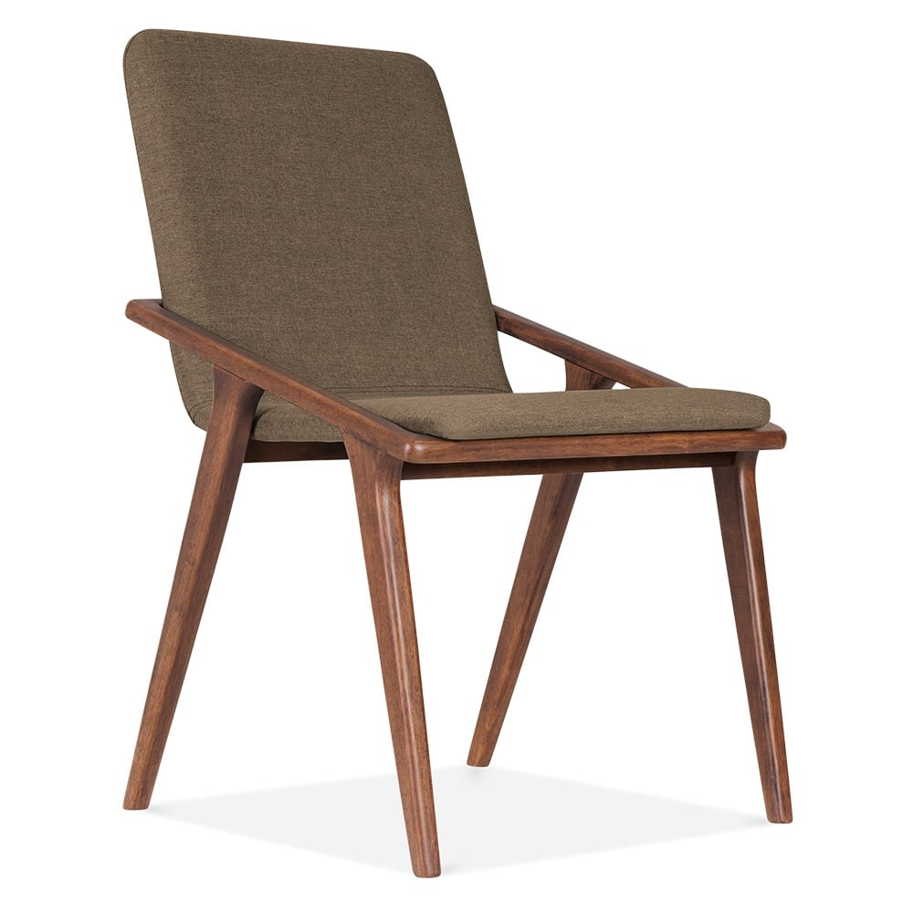 cult living flight dining chair in brown cult furniture uk. Black Bedroom Furniture Sets. Home Design Ideas