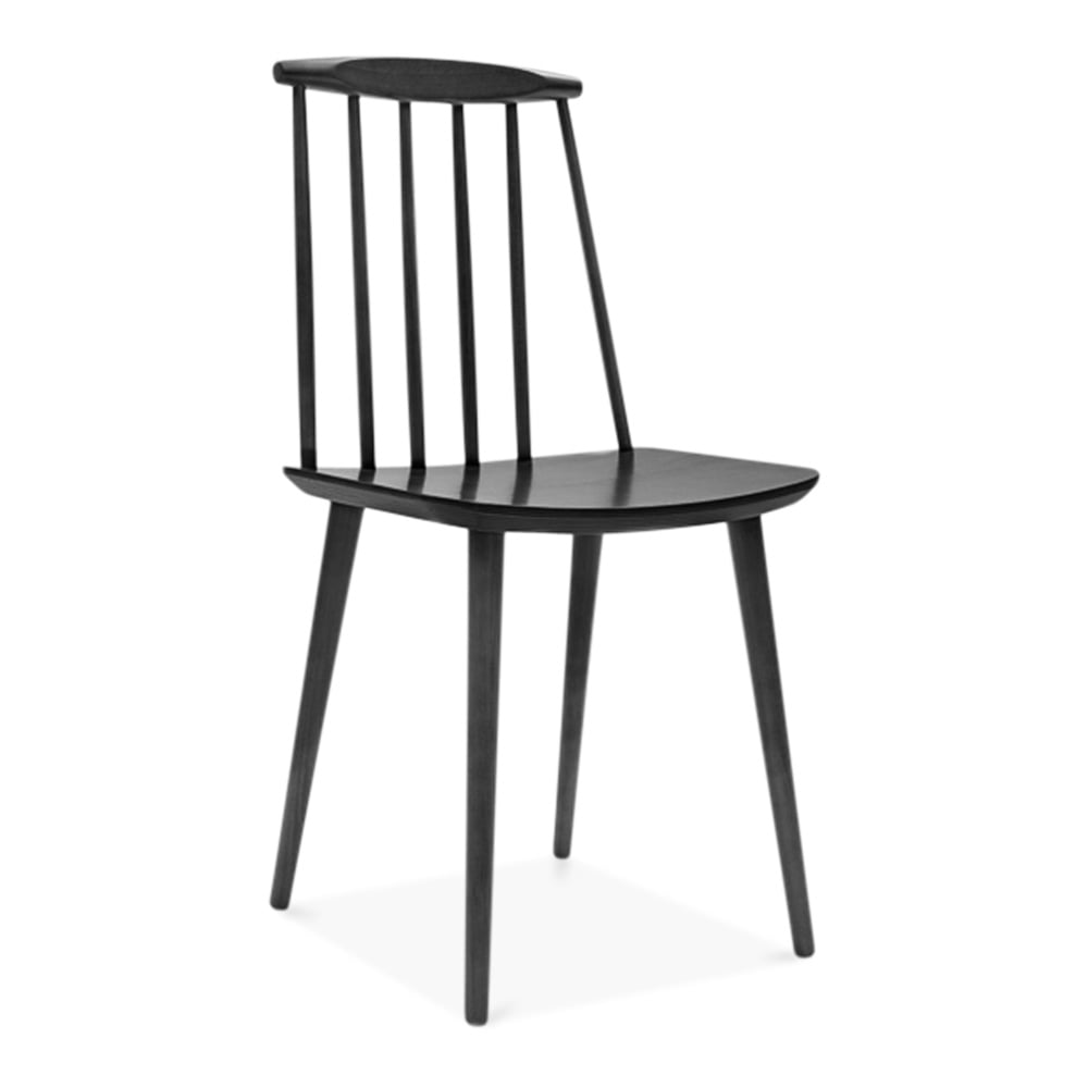 Cult Living Mavis Spindle Black Wooden Chair Furniture