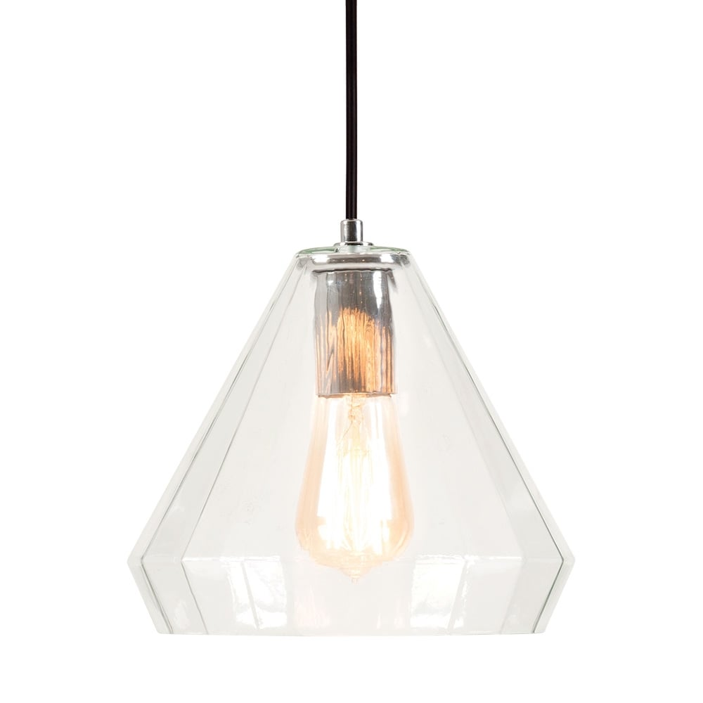 Cult Living Sonna Dome Glass Pendant Light Clear
