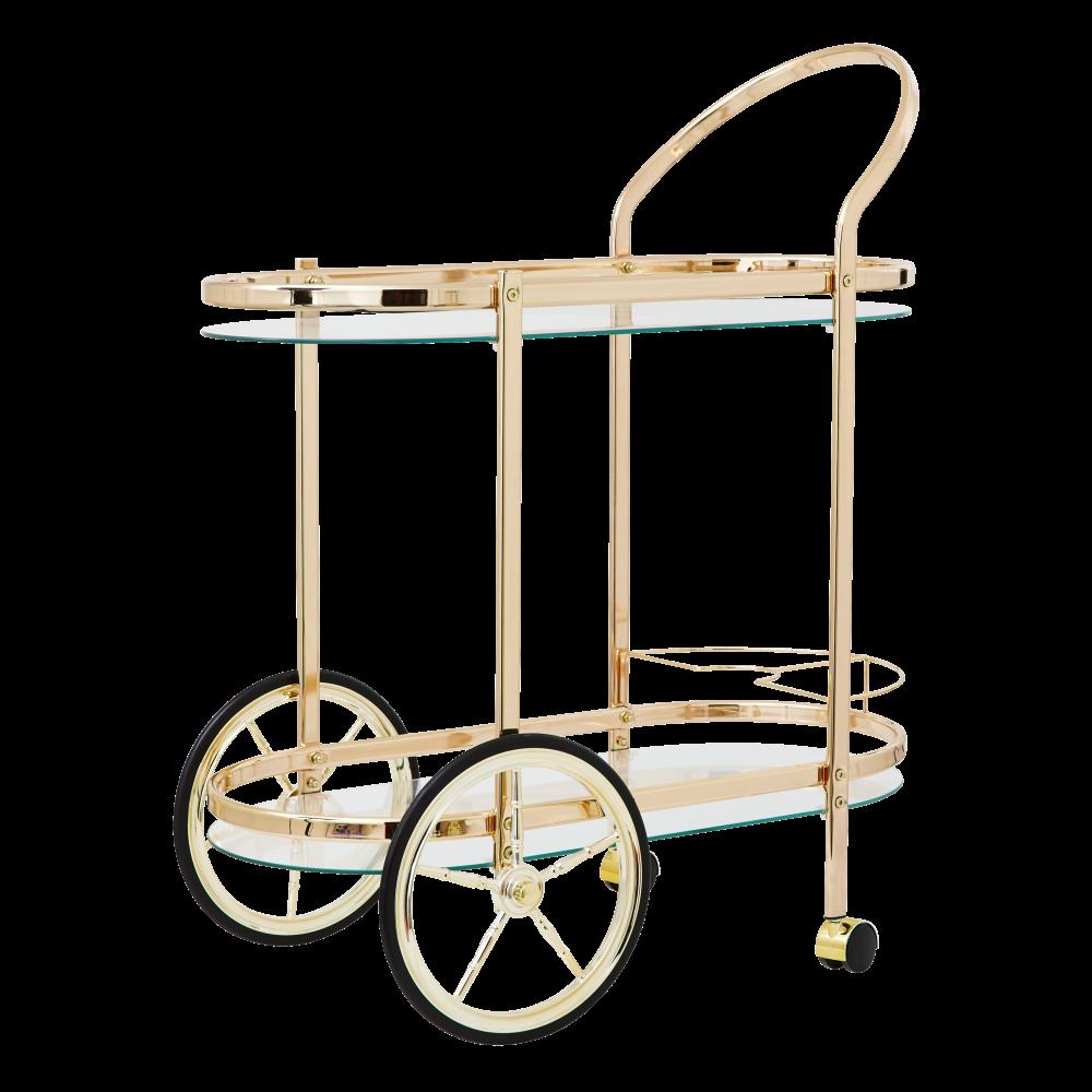 Cocktail Cart Copper Cult Furniture
