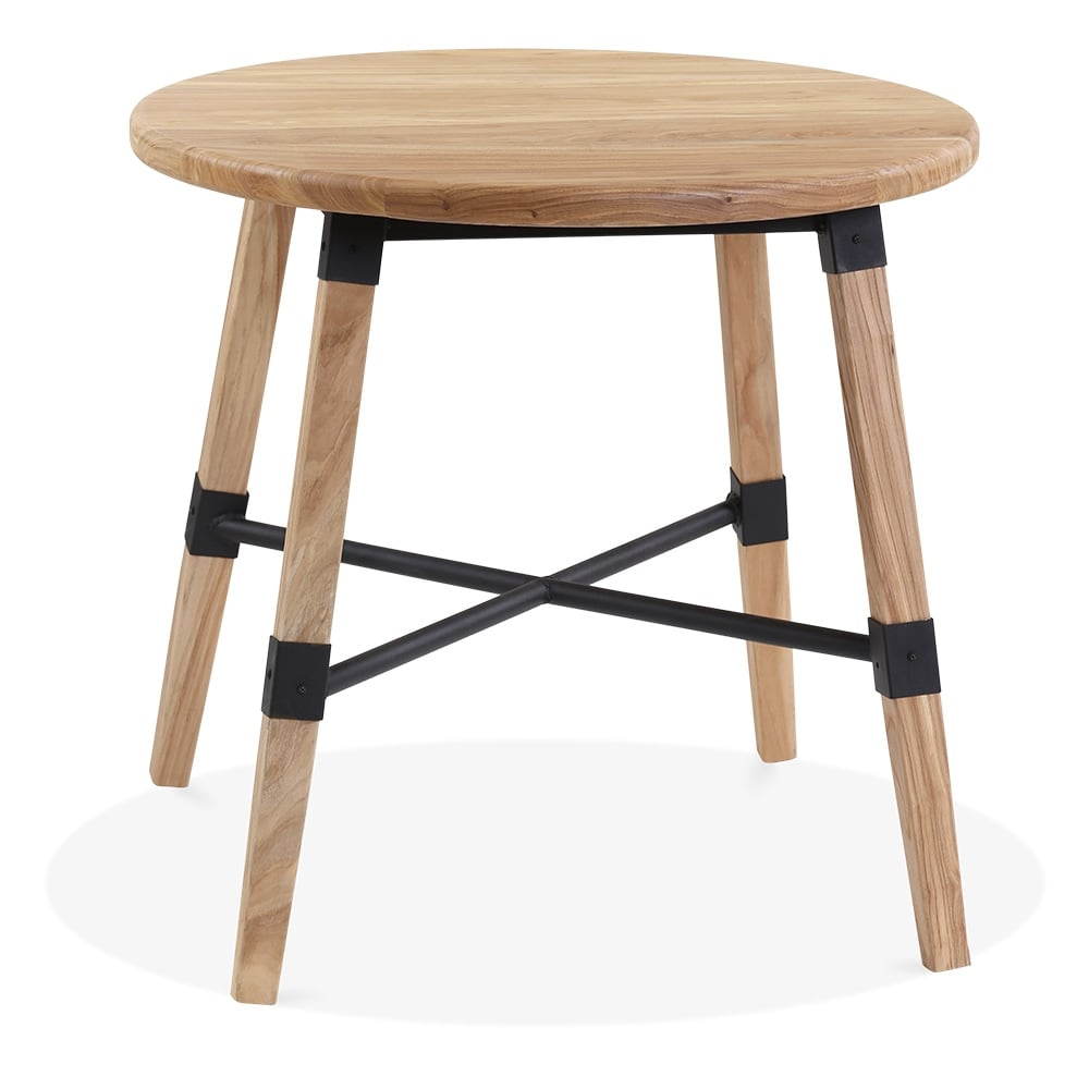 Natural Wood Bastille Round Dining Table Natural 80cm  : 1482232413 14594400 from www.cultfurniture.com size 1000 x 1000 jpeg 53kB