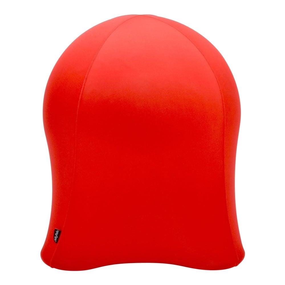 jellyfish balance ball chair red