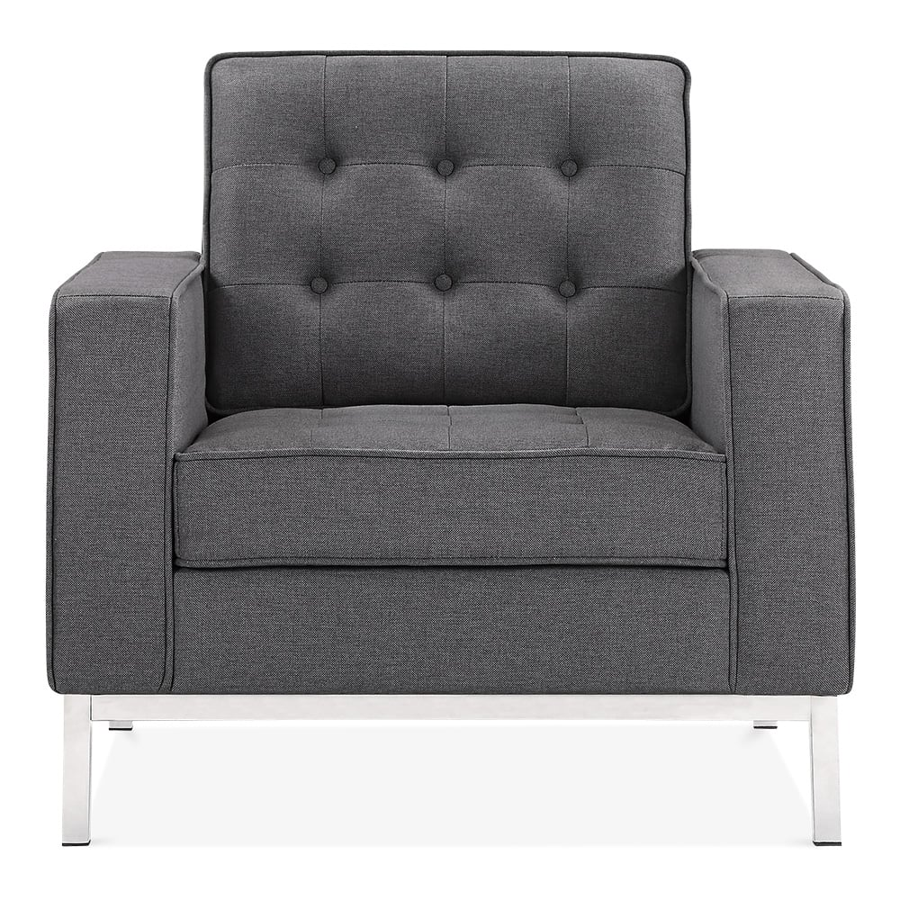 cult living riley armchair dark grey cult furniture uk. Black Bedroom Furniture Sets. Home Design Ideas