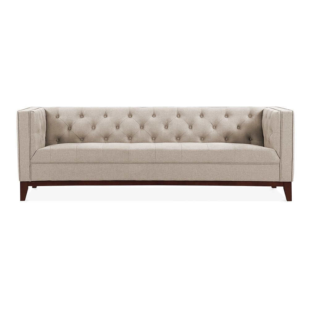 cult living shawbrook 3 seater sofa cream cult furniture uk. Black Bedroom Furniture Sets. Home Design Ideas