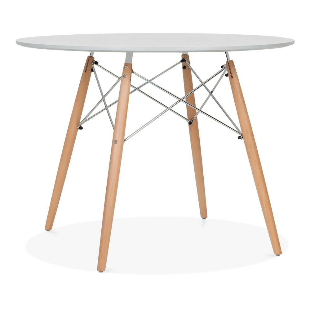 eames dsw grey table with wooden legs 100cm dining tables cult uk