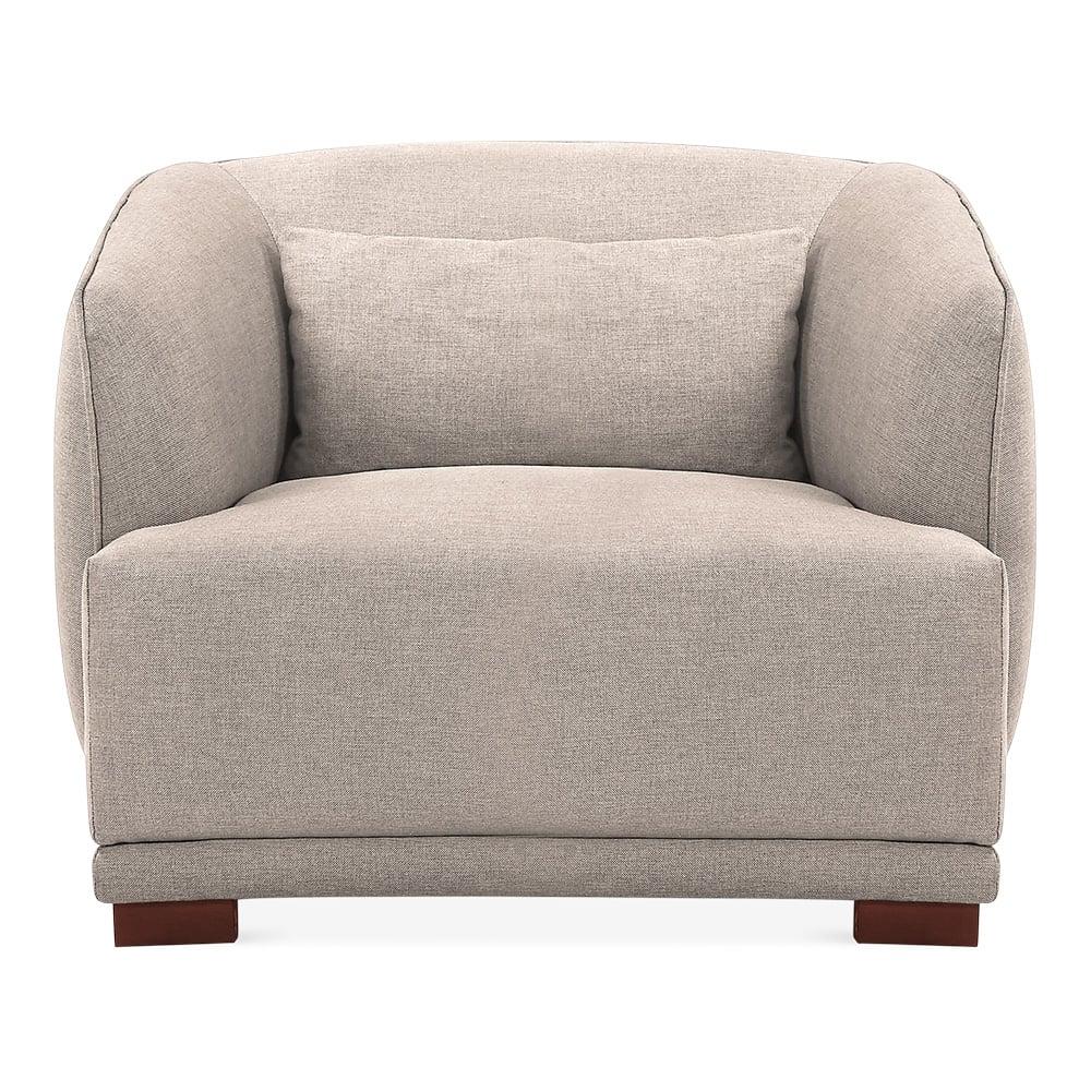 cult living berman armchair cream soft furnishings cult furniture uk. Black Bedroom Furniture Sets. Home Design Ideas