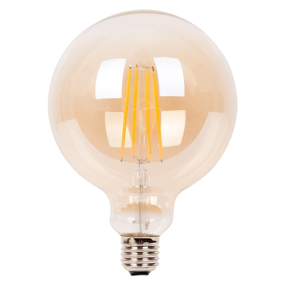 edison large round globe long led 4w filament bulb cult uk. Black Bedroom Furniture Sets. Home Design Ideas