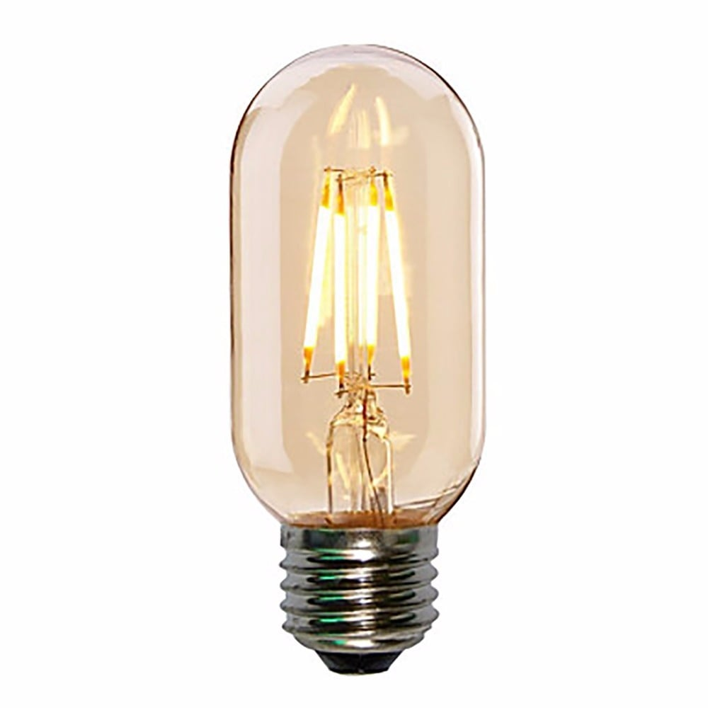 led t45 4w e27 smoked bulb mini tube filament cult uk. Black Bedroom Furniture Sets. Home Design Ideas