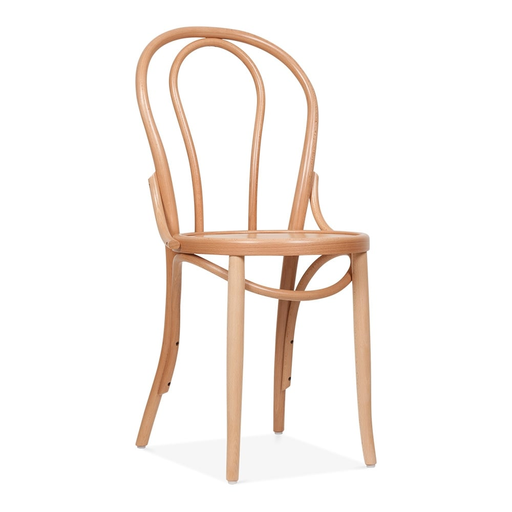 Thonet Style Bistro Wooden Dining Chair Natural – Thonet Dining Chair