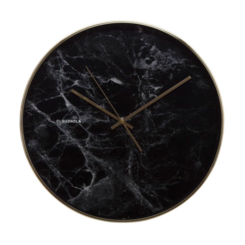 Cloudnola structure marble wall clock cult furniture - Reloj de pared moderno ...