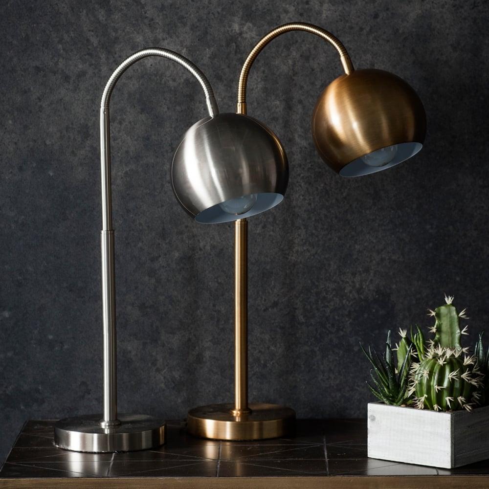 Dante Adjustable Desk Lamp Gold Contemporary Desk Lamps