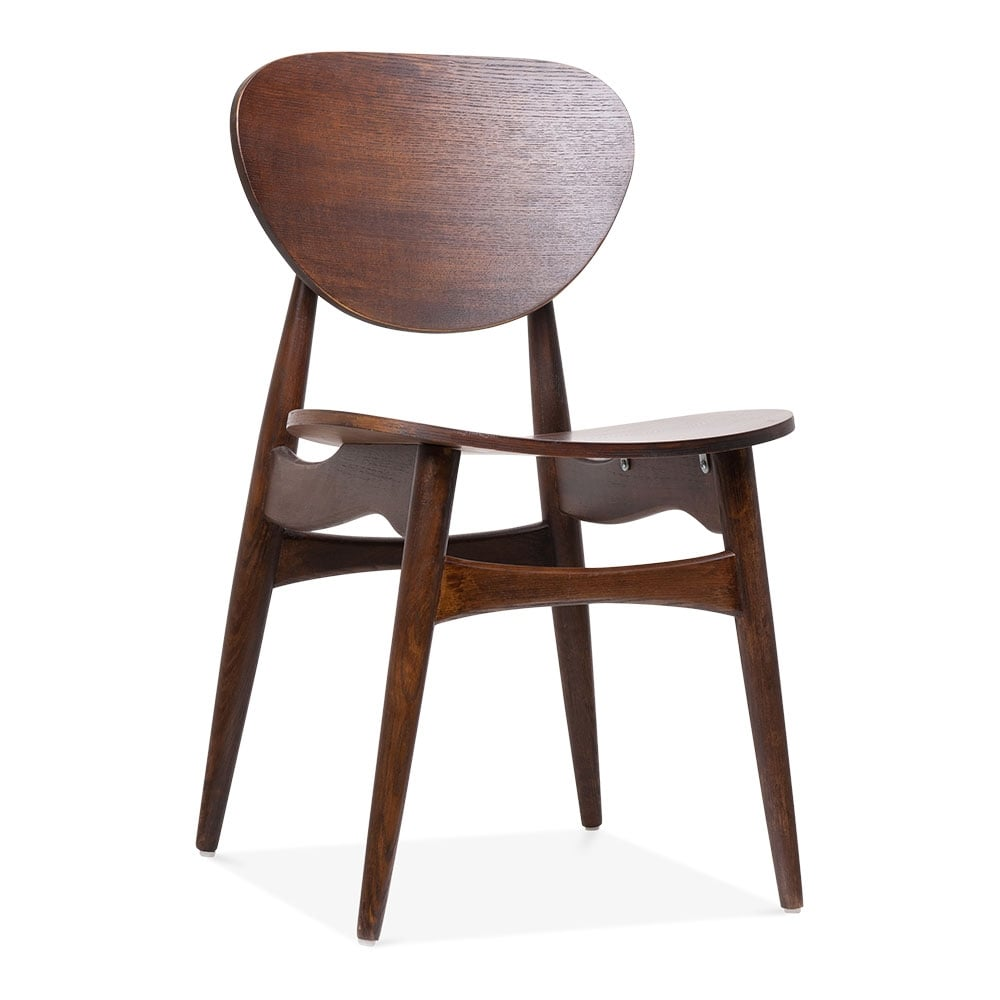 harpen wooden dining chair walnut cult furniture uk. Black Bedroom Furniture Sets. Home Design Ideas