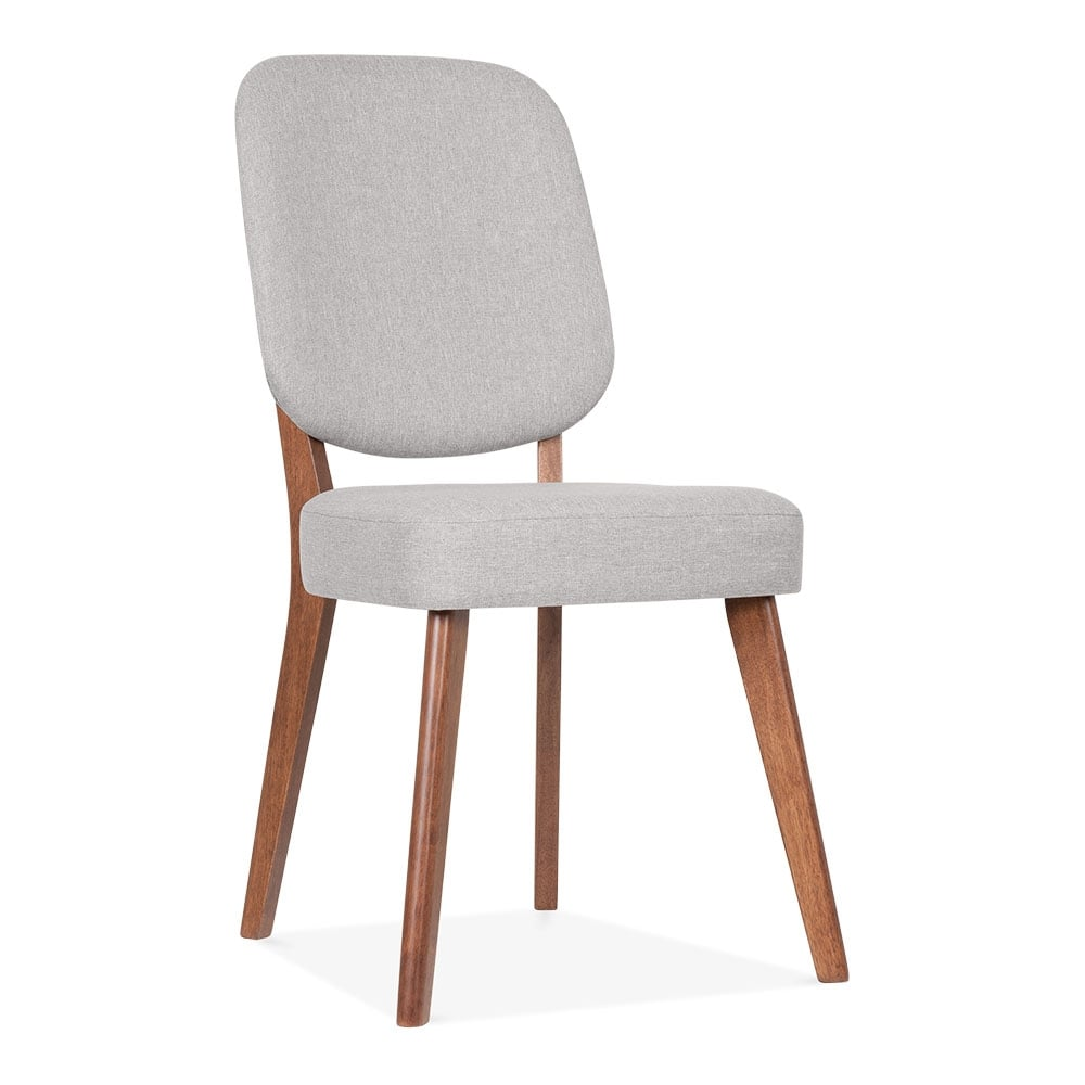 pinto light grey upholstered dining chair cult furniture. Black Bedroom Furniture Sets. Home Design Ideas