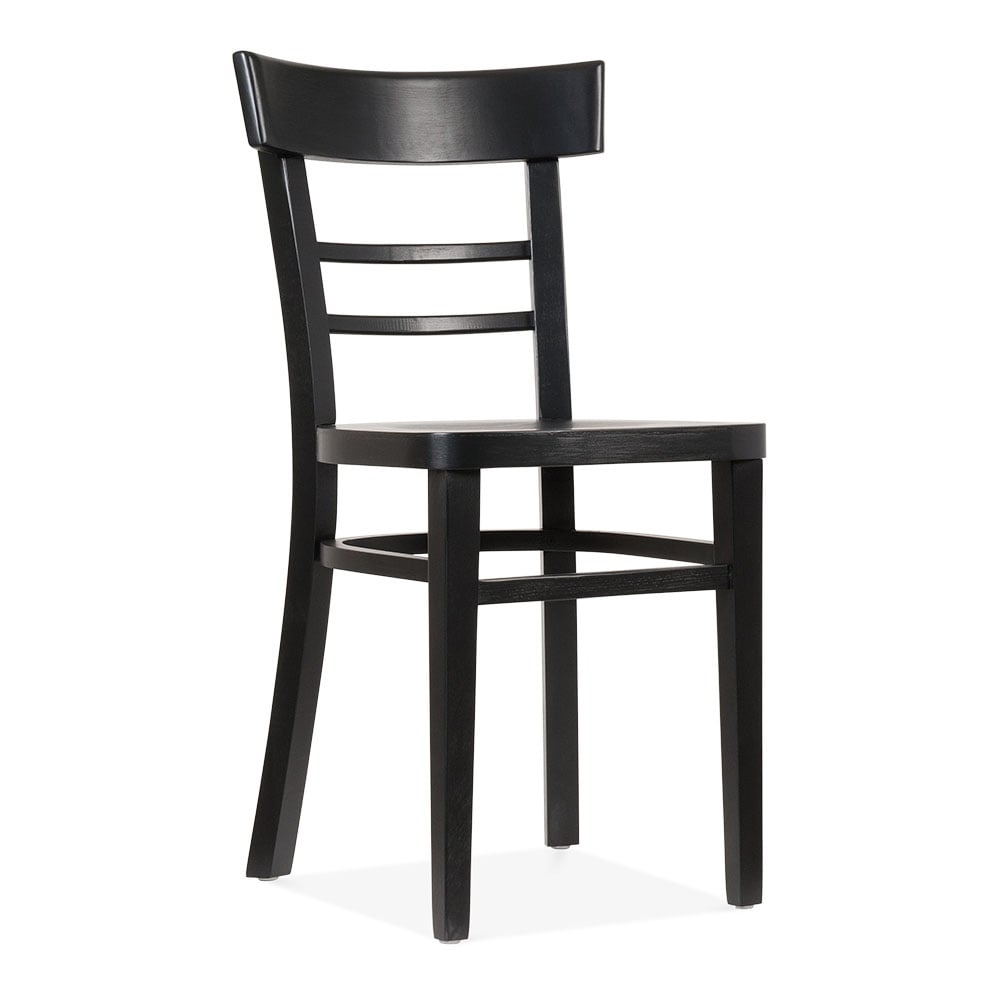 Clearance Dining Room Chairs: Leena Wooden Dining Chair Black