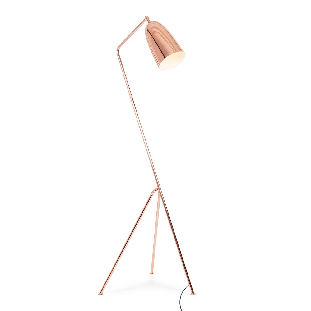 grasshopper metal floor lamp copper cult furniture. Black Bedroom Furniture Sets. Home Design Ideas
