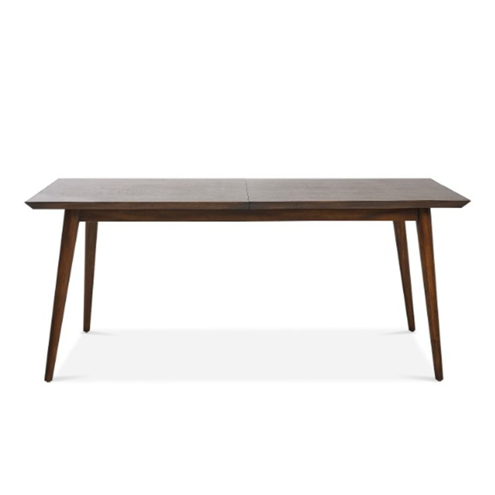 Small Extendable Dining Table Aspen Small Brown Acacia Wood Dining Table  Cult Furniture Uk