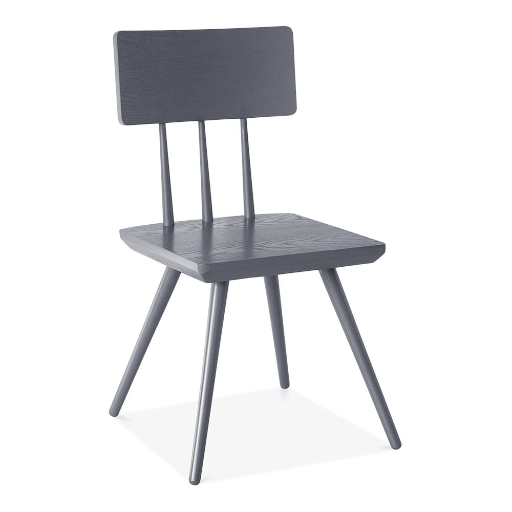 grey wood dining chairs. Cult Living Orla Wooden Dining Chair, Grey Wood Chairs T