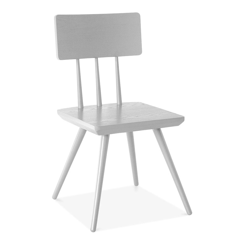 All Wood Dining Room Chairs: White Wood Orla Dining Chair