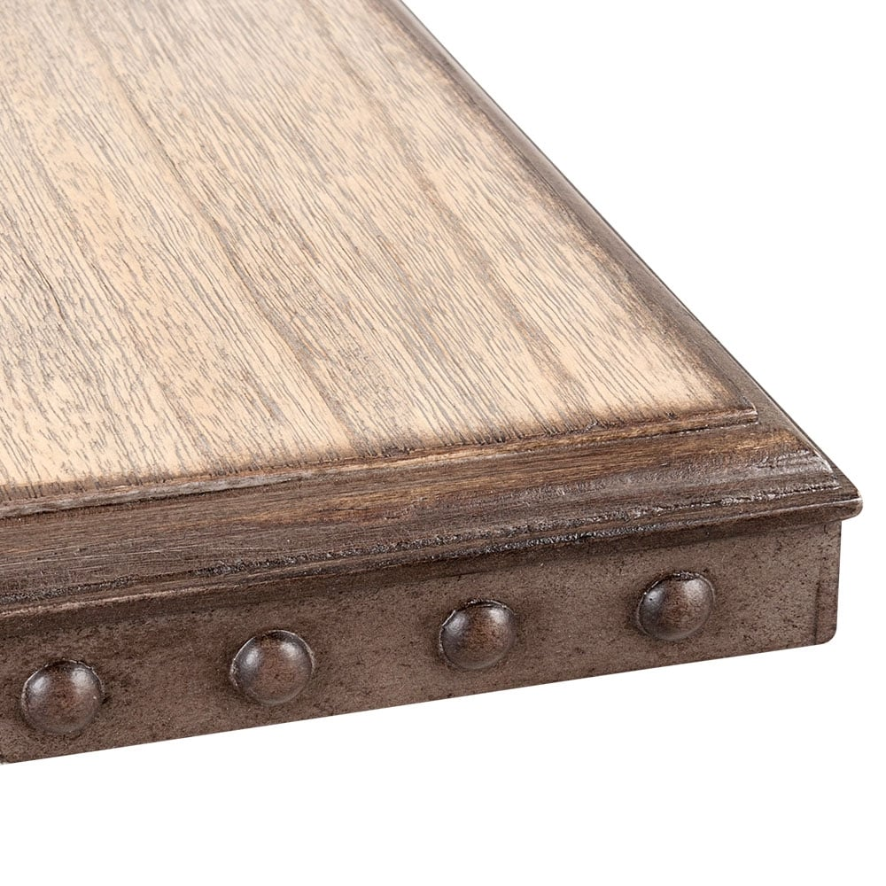 Cult Living Square Caf  Table Top  Rustic Wood Effect. Square Caf  Table Top with Rustic Wood Effect   Cult UK
