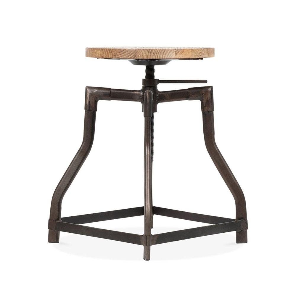 Industrial Swivel Stool - Black 45cm. u2039  sc 1 st  Cult Furniture & Turner Industrial Swivel Stool in Black 45cm | Bar Stools | Cult UK islam-shia.org