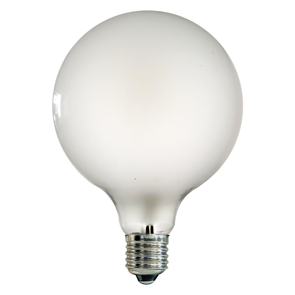 G125 E27 Large Globe Led 4w Frosted Light Bulb Lighting Accessories