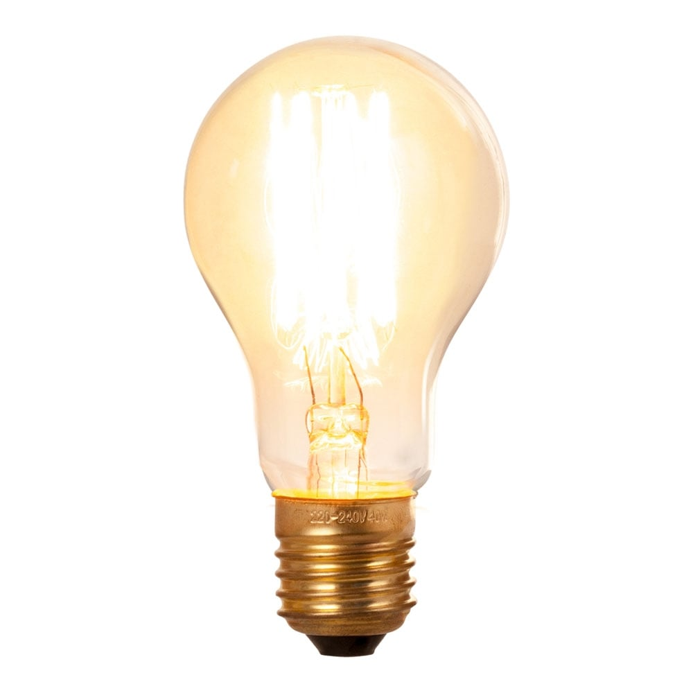 A60 Squirrel Filament Dimmable E27 Bulb Vintage Edison Bulbs