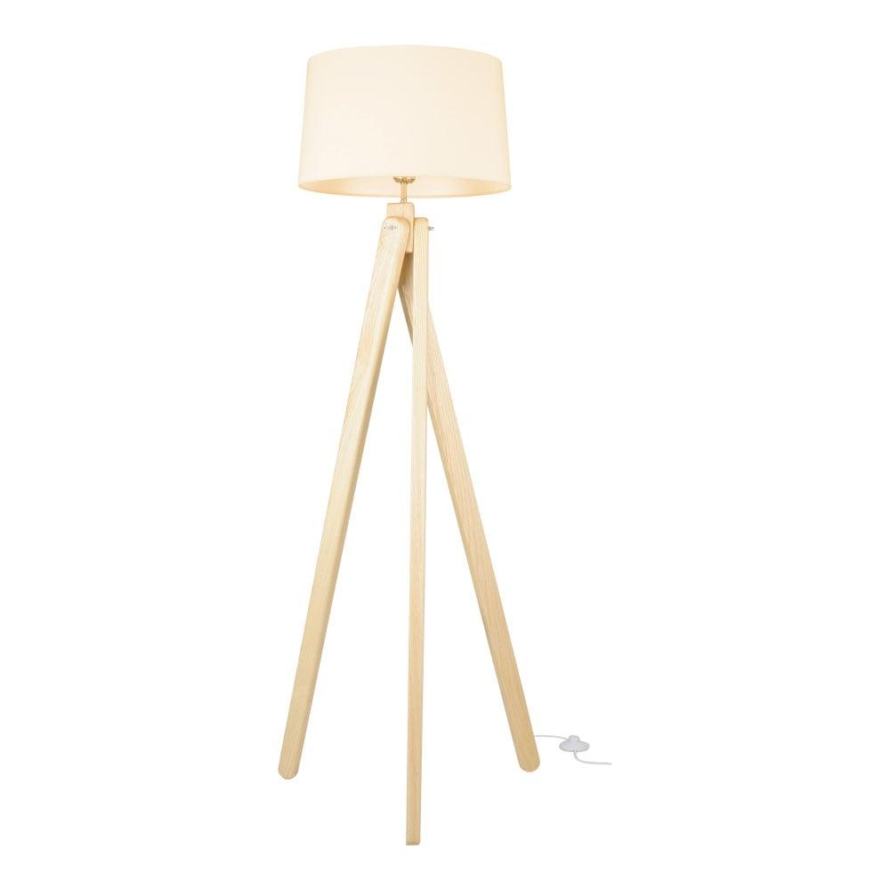 Floor Lamp Wood: Cult Living Tripod Floor Lamp In Natural Wood