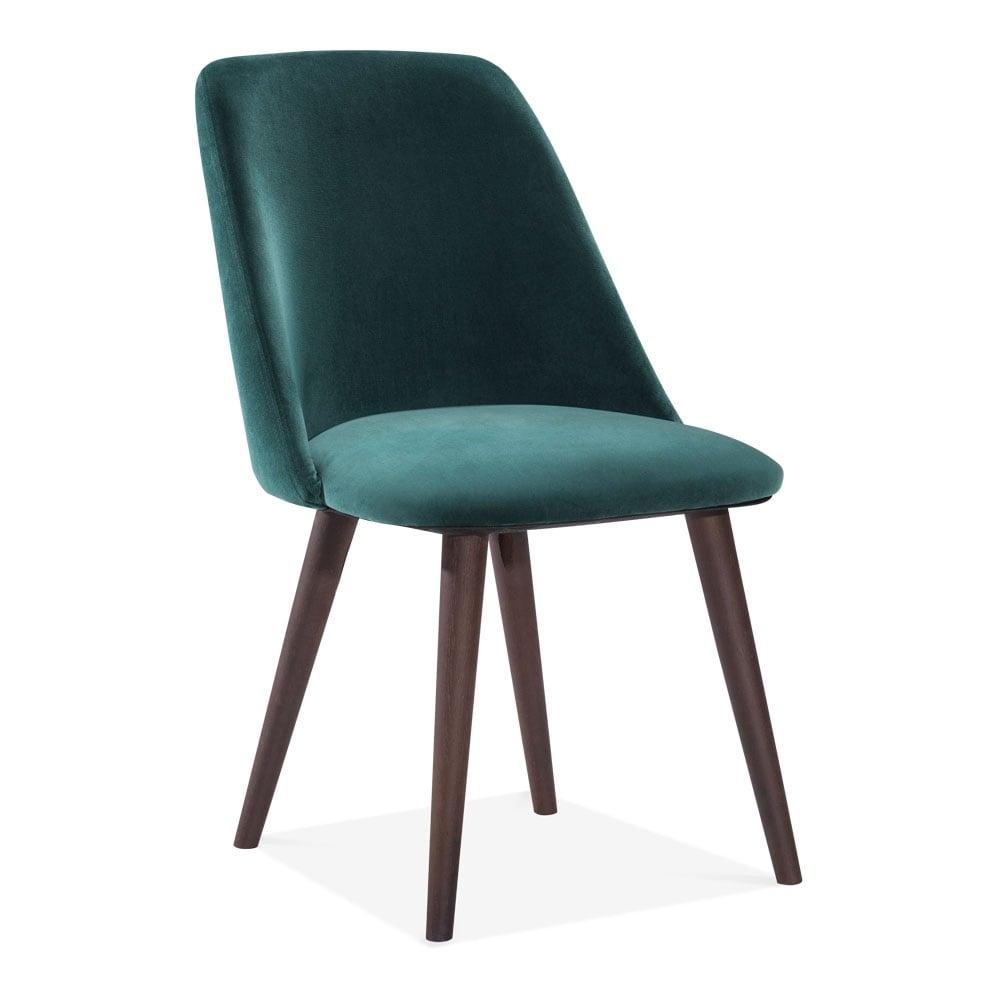 Green Velvet Upholstered Primrose Dining Chair Modern