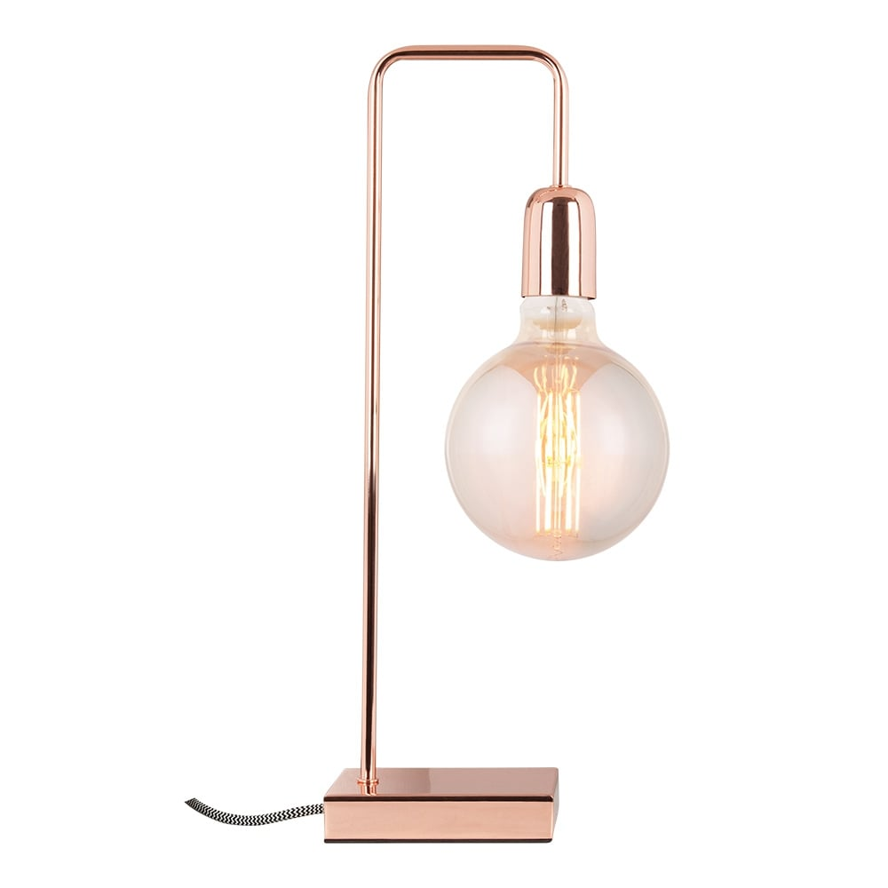 Cult living elegance metal table lamp in copper cult uk cult living elegance metal table lamp copper mozeypictures Gallery